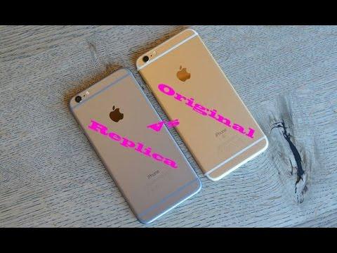 iPhone 6 plus vs Réplica do iPhone 6 plus oq eu achei da ...