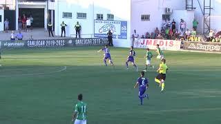 J5 · T18/19 · Resumen Atco. Sanluqueño CF 2 - 0 Marbella FC