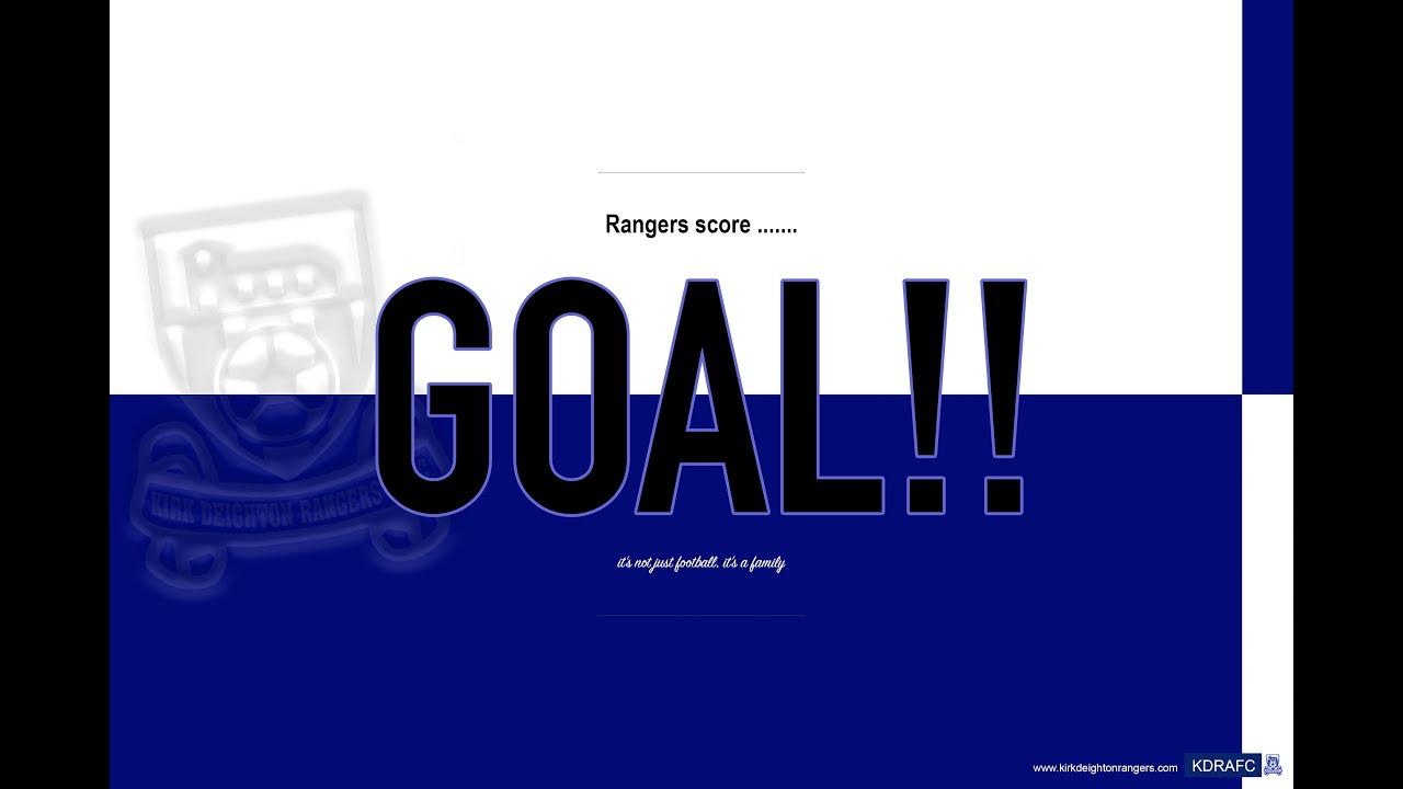 Graham Cowgill Goal v Wetherby Veterans