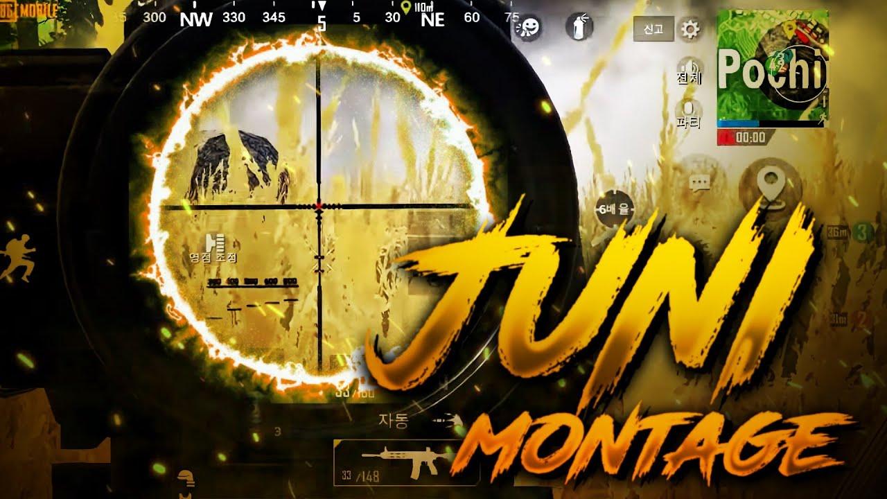 모배 모바일 배그 워리어 주니 스크림 클립~ PUBG Mobile JUNI Scrim Montage~