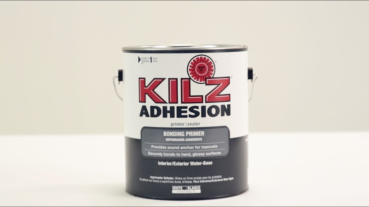 KILZ® Adhesion Bonding Primer Product Information