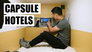 Japan Capsule Hotels! - Budget Solo Travel