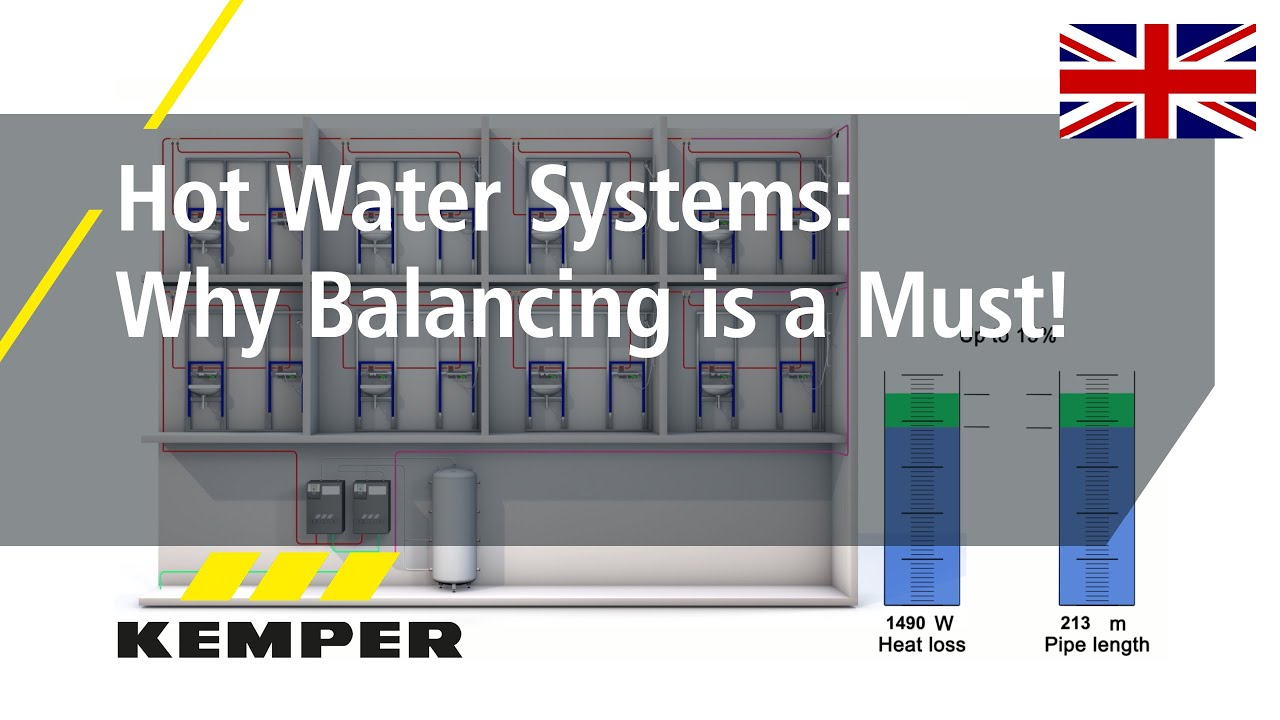 Youtube Video: Hot Water Systems: Why Balancing is a Must!