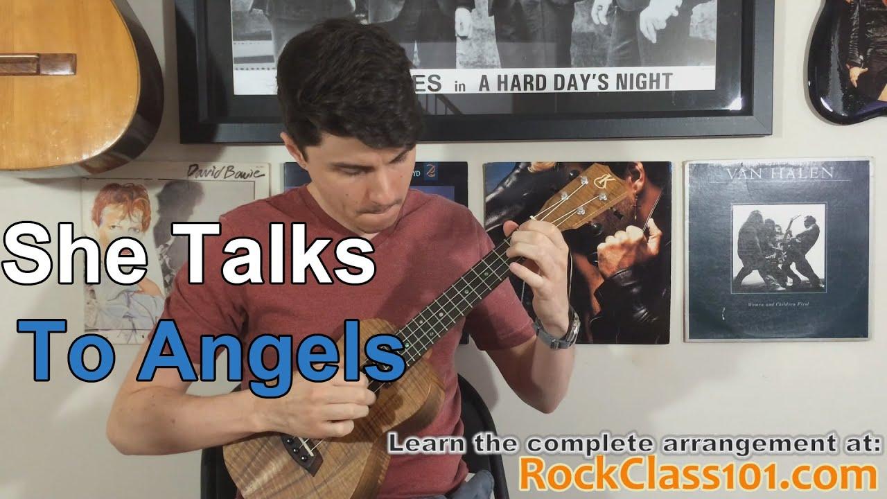 She Talks To Angels   The Black Crowes Ukulele Lesson