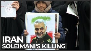 Iranians mourn Soleimani's killing