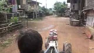 Crazy Transportation in Laos