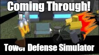 New Military Base Tower In Tower Defense Simulator!   ROBLOX