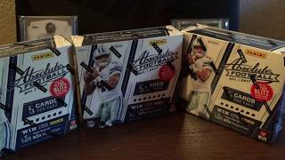 2017 Panini Absolute Football box break. HUGE CASE HIT!!!  My Best Box Break Ever.
