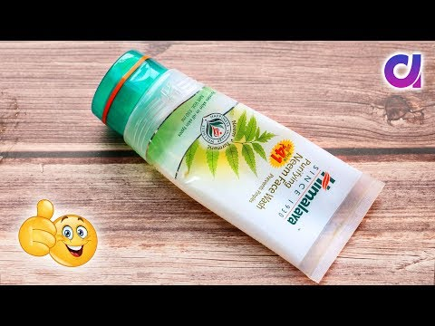 Best use of waste Himalaya Face wash packet craft idea | Best Out of waste | Artkala