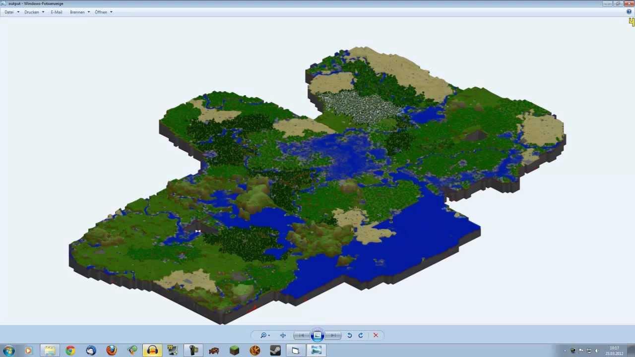 MinecraftTutorial MCmap Landkarte Von Map Erstellen PMT - Minecraft server welt erstellen