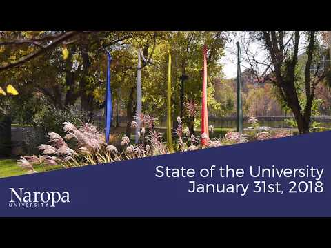 State of the University Address 2018