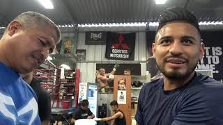 Behind The Scenes Abner Mares In Camp EsNews Boxing