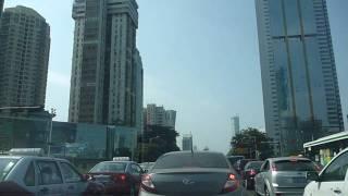 深圳市中心開車 Driving in Shenzhen City Centre, Guangdong, China