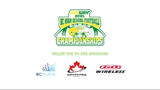 2018 BC High School Football AAA Playoffs: New Westminster vs. Lord Tweedsmuir