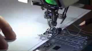 BOM2011 – Margem de costura – parte 1: Máquina eletrônica