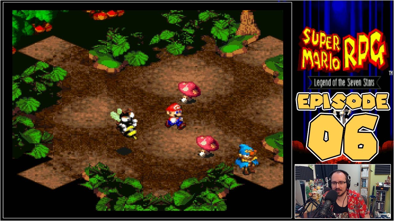 Super Mario RPG: Legend Of The Seven Stars - Rose Town & The Forest Maze Treasure Hunt - Episode 6