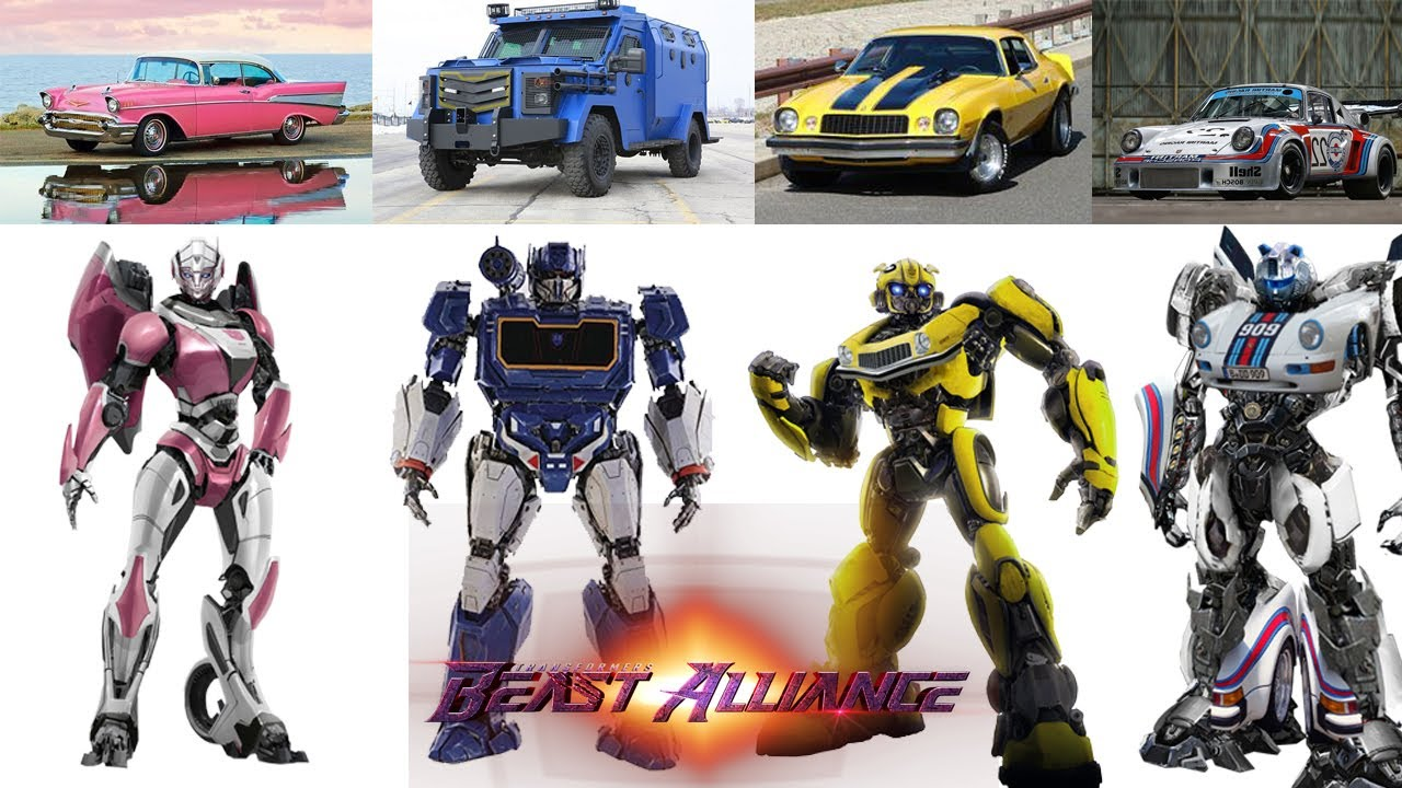 Download Transformers Beast Alliance (2022) - Robot Cast (Fan made)
