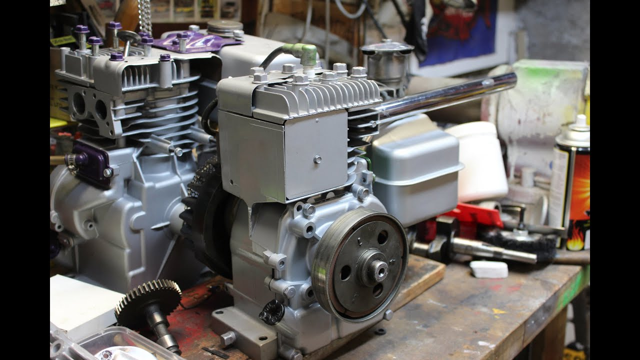 Briggs And Stratton 3hp Hot Rod Engine Youtube