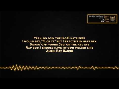 B.o.B - E.T. (Ft. Lil Wayne) [Lyrics]