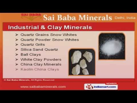 Ceramic And Porcelain Raw Materials by Sai Baba Minerals, New Delhi