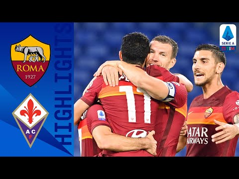AS Roma Fiorentina Goals And Highlights