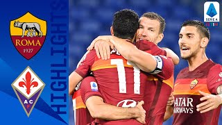 Roma 2-0 Fiorentina | Goals From Pedro & Spinazzola See Roma Claim All 3 Points!| Serie A TIM