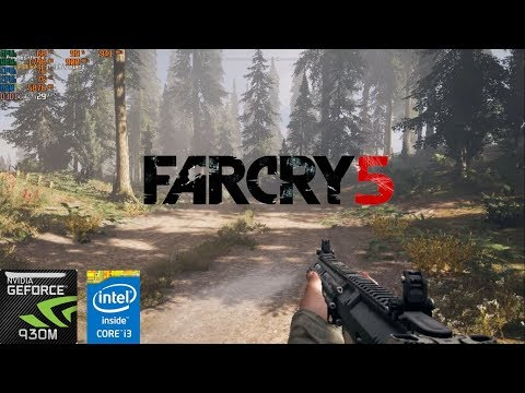 How to play Far Cry 5 on low end PC with Geforce 930m (Gameplay same for 940m and 840m)
