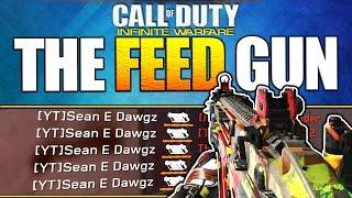 The FEED GUN - Karma Deimos Best Class Setup + 56-2 Gameplay -  Infinite Warfare