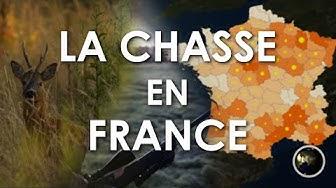 LA CHASSE EN FRANCE (cartes et chiffres)