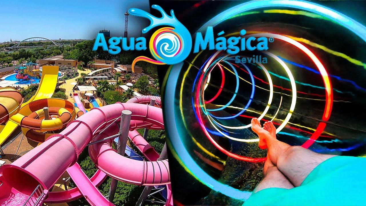 ¡Así es Agua Mágica en 2020! | El parque acuático de Isla Mágica, Sevilla