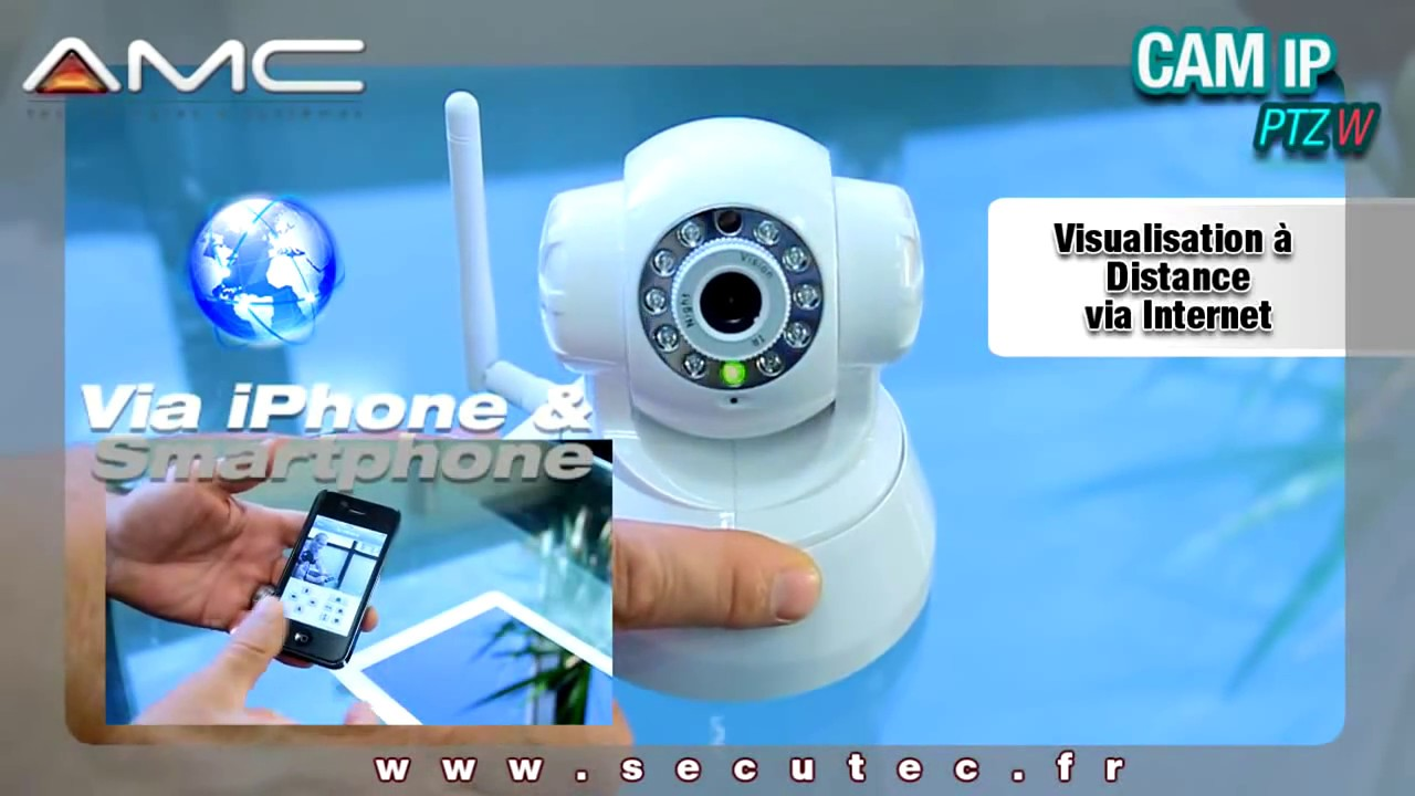 Camera De Surveillance Exterieur Electro Depot Camera Ip Wifi Infrarouge Pilotable A Distance Via Iphone Mac Et Pc Secutec Fr