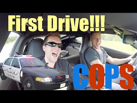 2016 CORVETTE C7 Z06 FIRST DRIVE REVIEW!!! DRIVER GETS PULLED OVER??