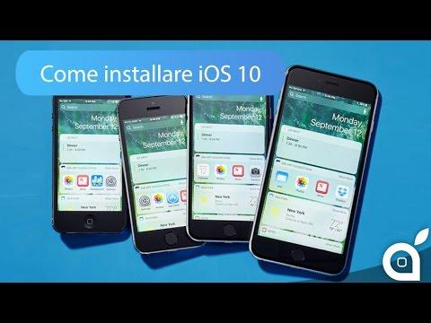 GUIDA: Come installare iOS 10 sul proprio iPhone ed iPad