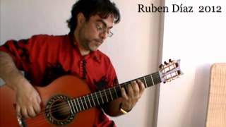 Major Scale Preliminary Training (2)  for Level 1  (87 bpm / 4npb) Ruben Diaz Flamenco CFG studio