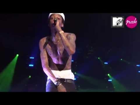 Wiz Khalifa Roll Up Live Mtv PUSH