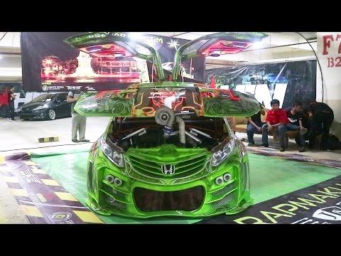 Inilah Juara Kontes Mobil Modifikasi Indonesia - HIN Jogja 2016 (HONDA BRIO MODIFIKASI)