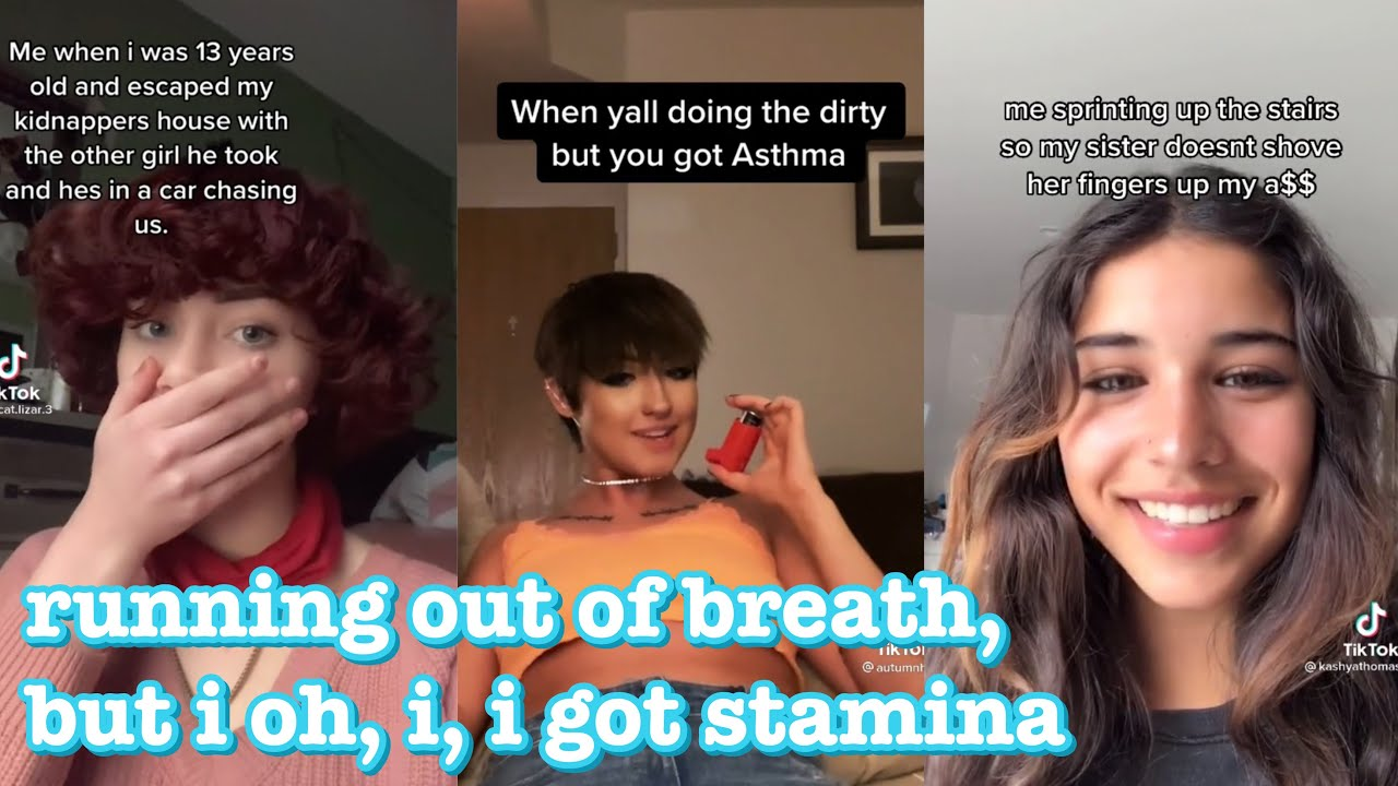 running out of breath, but i oh, i, i got stamina~tik tok