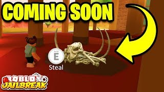 NEW DINOSAUR MUSEUM ROBBERY SNEAK PEAK! | Roblox Jailbreak New Mini Update