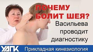 Проблемы ШЕИ - причина болей в колене. ПРИКЛАДНАЯ КИНЕЗИОЛОГИЯ.