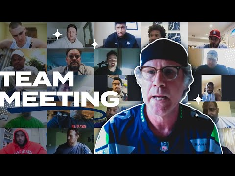 Will Ferrell Crashes Seahawks Virtual Team Meeting