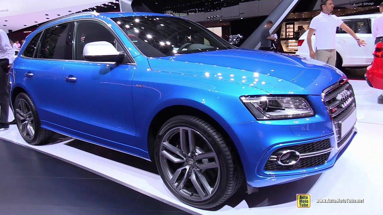 2015 audi sq5 - exterior and interior walkaround - 2014 paris auto