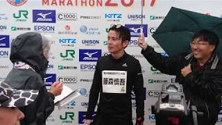 諏訪湖マラソン2017_オリラジ藤森慎吾 ゲストランナー_20171029.