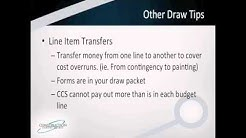 CCS Construction Loan Draw Tips