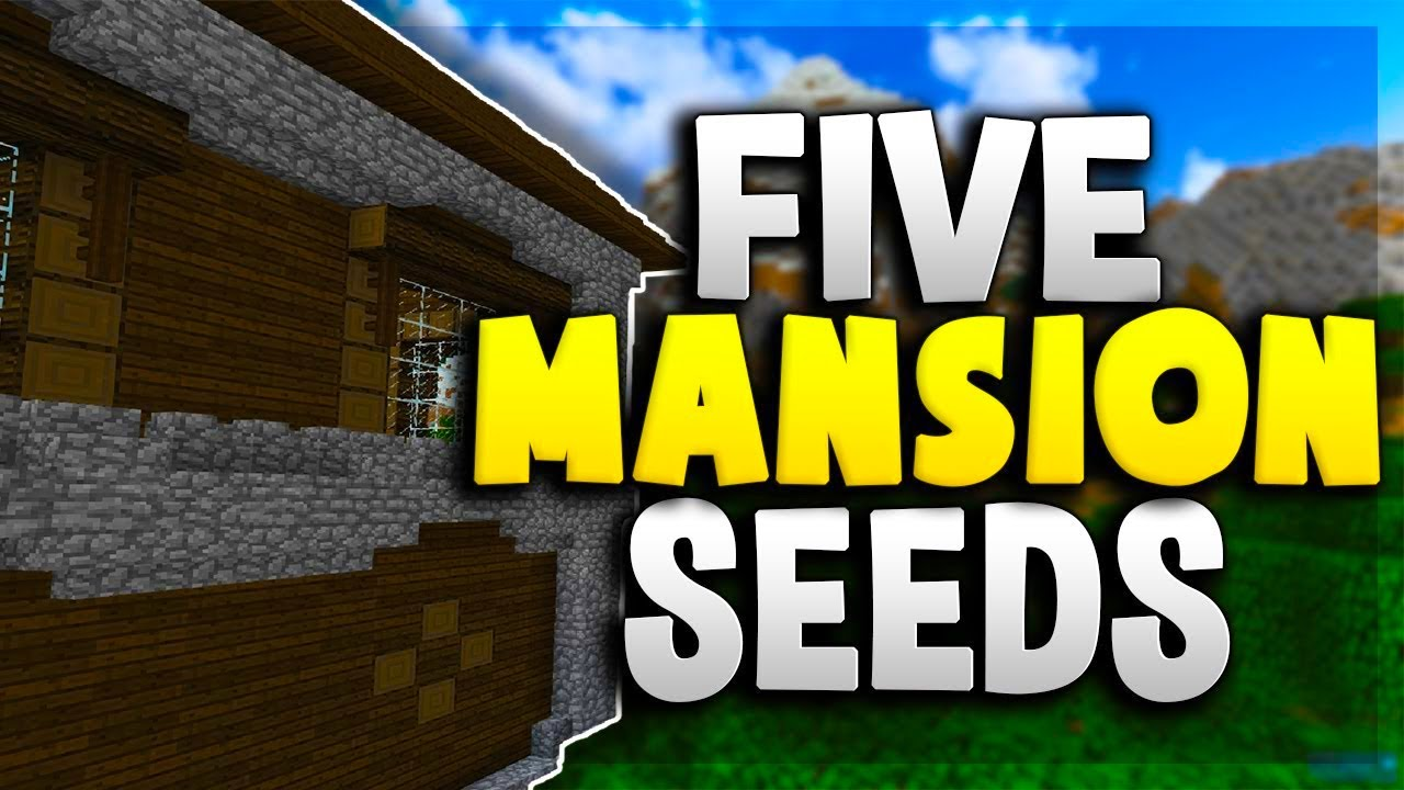 Top 5 mansion seeds for minecraft 1 12 2