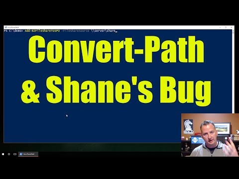 PowerShell Convert Path For The Win!