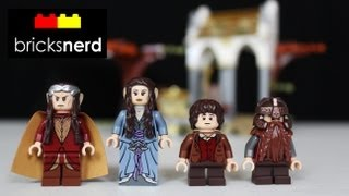Lego The Council Of Elrond Review, Unboxing, Time Lapse Build Lord Of The Rings 79006