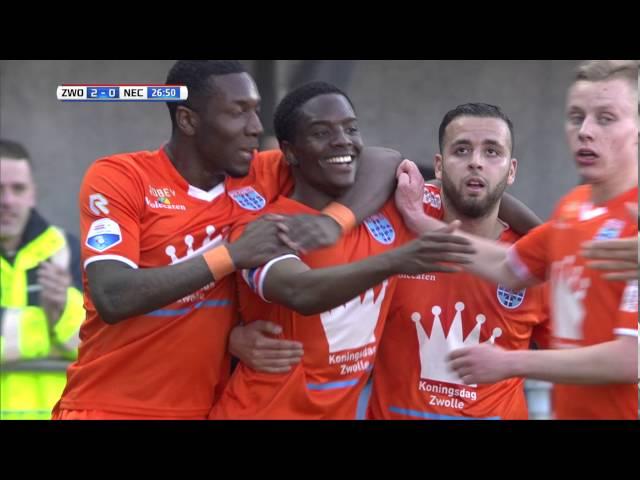 Samenvatting PEC Zwolle - N.E.C.
