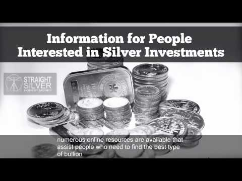 Silver Bullion: Information for People Interested in Silver Investments