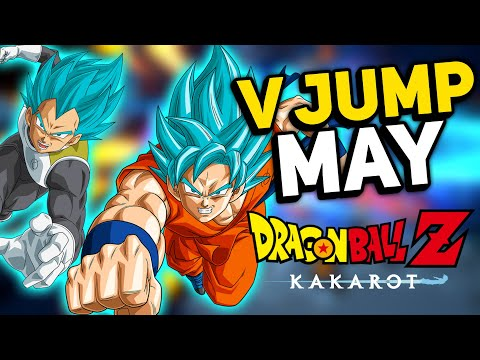Dragon Ball Z Kakarot NEW V Jump Update - Massive Info Coming In MAY Get Reaady!!