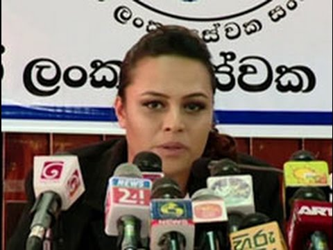Mihin Lanka employees demand compensation or jobs from govt